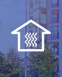 Ohjauskeskus huomioi muutokset ilmanvaihdossa ja säätää lämmitysjärjestelmää automaattisesti